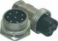 Conector Mike LS-3007-3014 - 8 vias